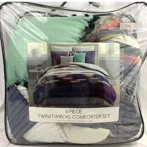 Brushstroke TWIN / TWIN XL Comforter Set 6-Piece
